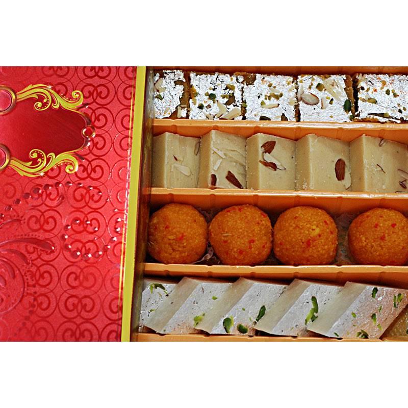 Mix Sweets Box 9 (800g) from Rameshwaram