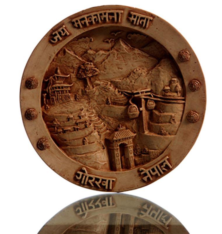 Marble Plate - Jaya Manakamana Mata Gorkha Nepal 3