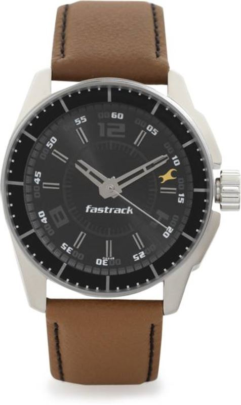 Fastrack Men's Casual Wrist Watch - 3089SL05
