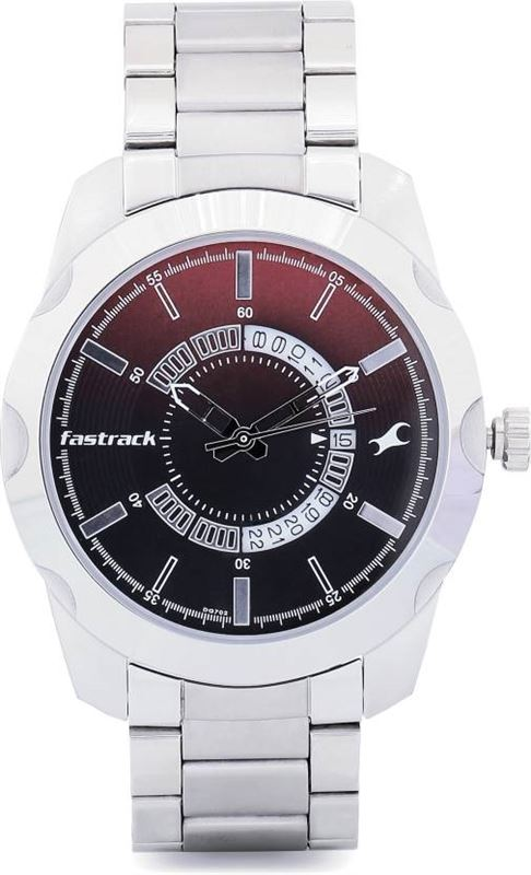 Fastrack Analog Black Dial Men's Watch-3123SM03