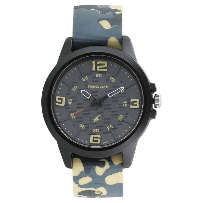 Fastrack Trendies Analog Black Dial Men's Watch-38048PP02