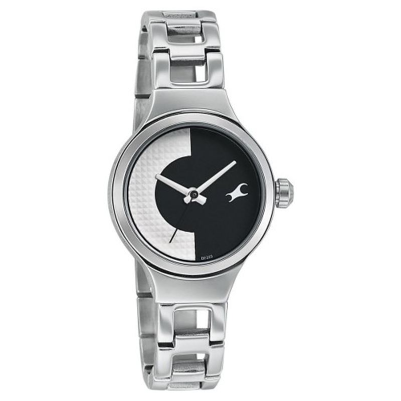 Fastrack Analog Black Dial Women's Watch - 6134SM01