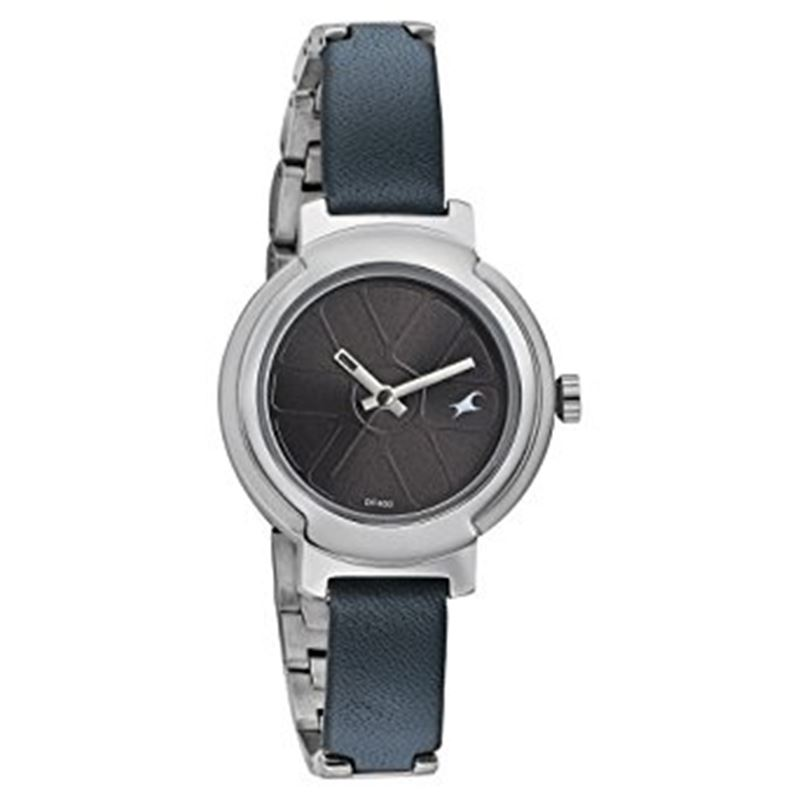 Fastrack Analog Grey Dial Women's Watch-6143SM01