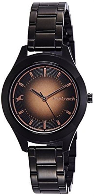Fastrack Analog Grey Dial Women's Watch-6153NM01