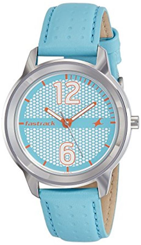 Fastrack Loopholes Analog Silver Dial Women's Watch-6169SL02