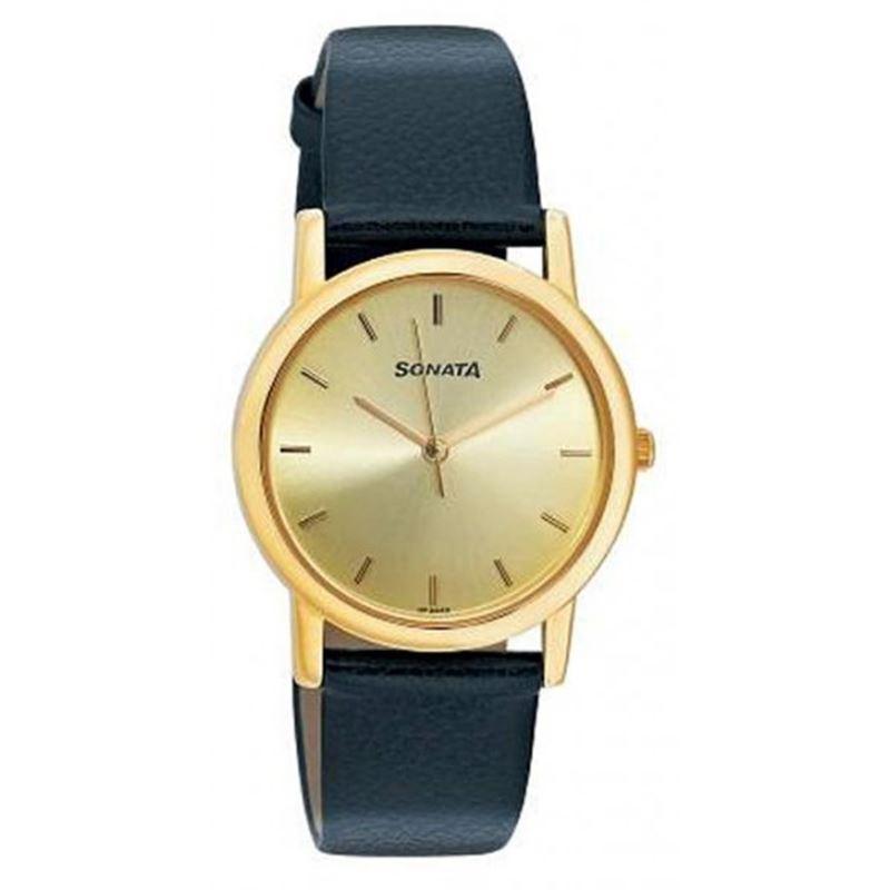 Sonata Analog White Dial Men's Watch - ND7987YL01