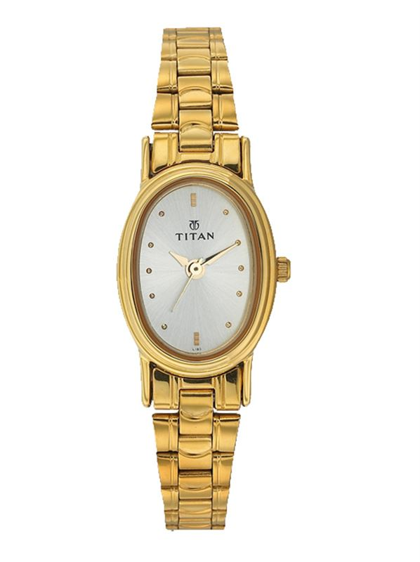 Titan Karishma Analog Silver Dial Women's Watch - NE2061YM06