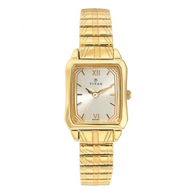 Titan Karishma Analog Champagne Dial Women's Watch - 2488YM02