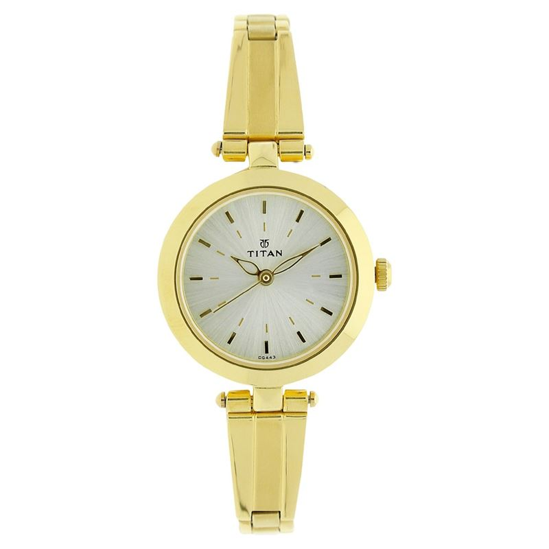 Titan Karishma White Dial Analog Watch for Women - 2574YM01