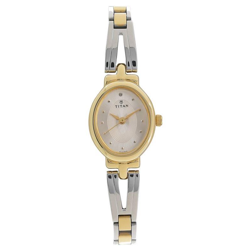 Titan Karishma Revive Silver Dial Analog Watch for Women - 2594BM01