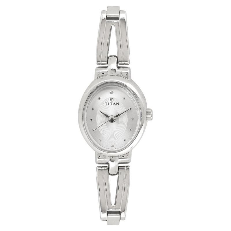 Titan Karishma Revive Silver Dial Analog Watch for Women - 2594SM01