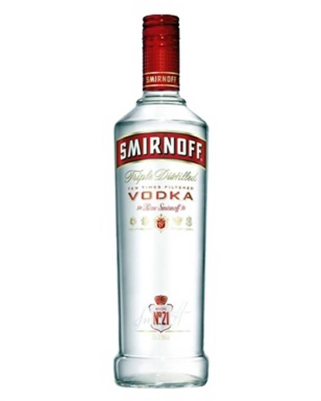 Smirnoff Triple Distilled Ten Times Filtered Vodka (1L)