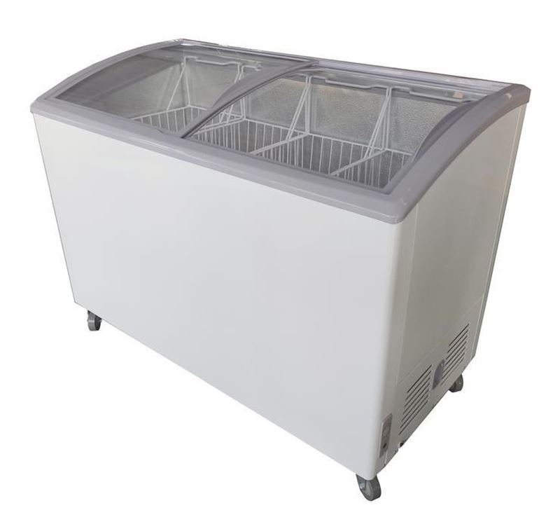 Hisense 213 Ltr Curved Glass Chest Freezers (FC-28DD4SA)