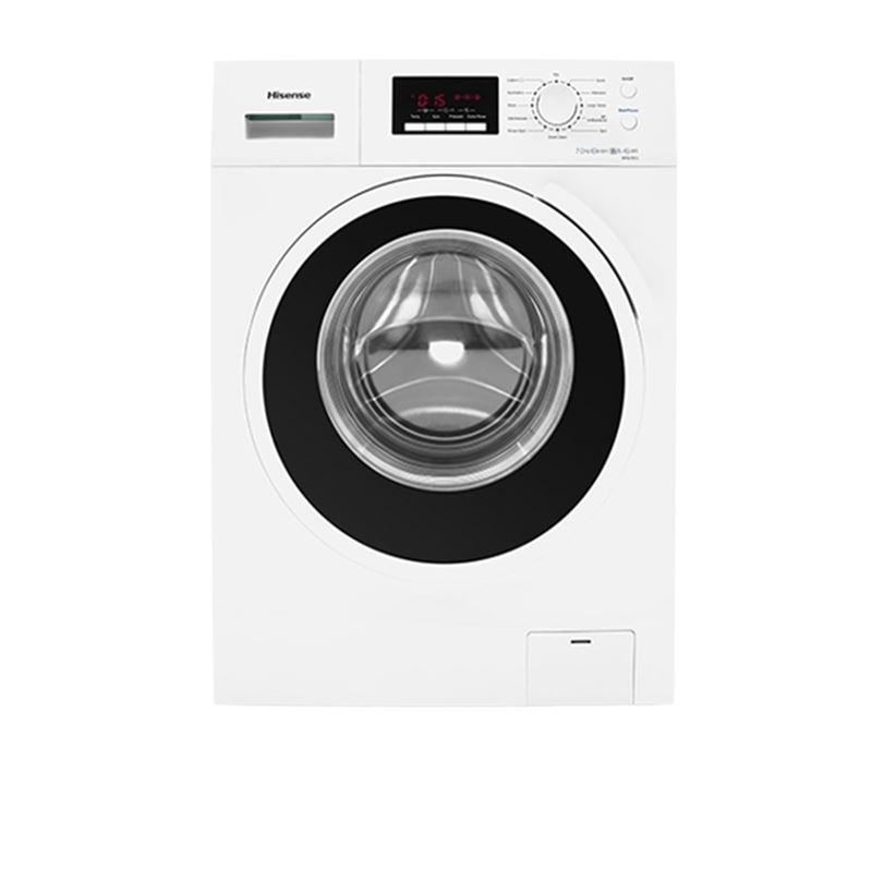 Hisense 7 Kg Front Loading Washing Machine WFBJ7012W (White)
