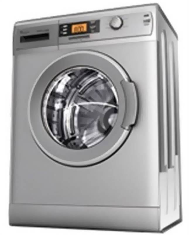 Whirlpool Flt washing machines 5.5 Kgs (1055 LCS) - Silver