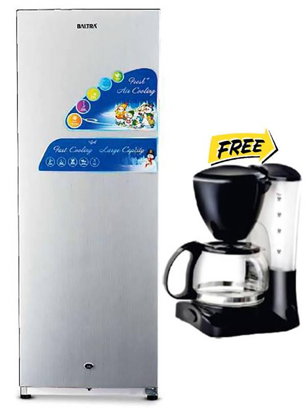 Baltra Refrigerator 240 Liter (Silver) - BRF240SD02