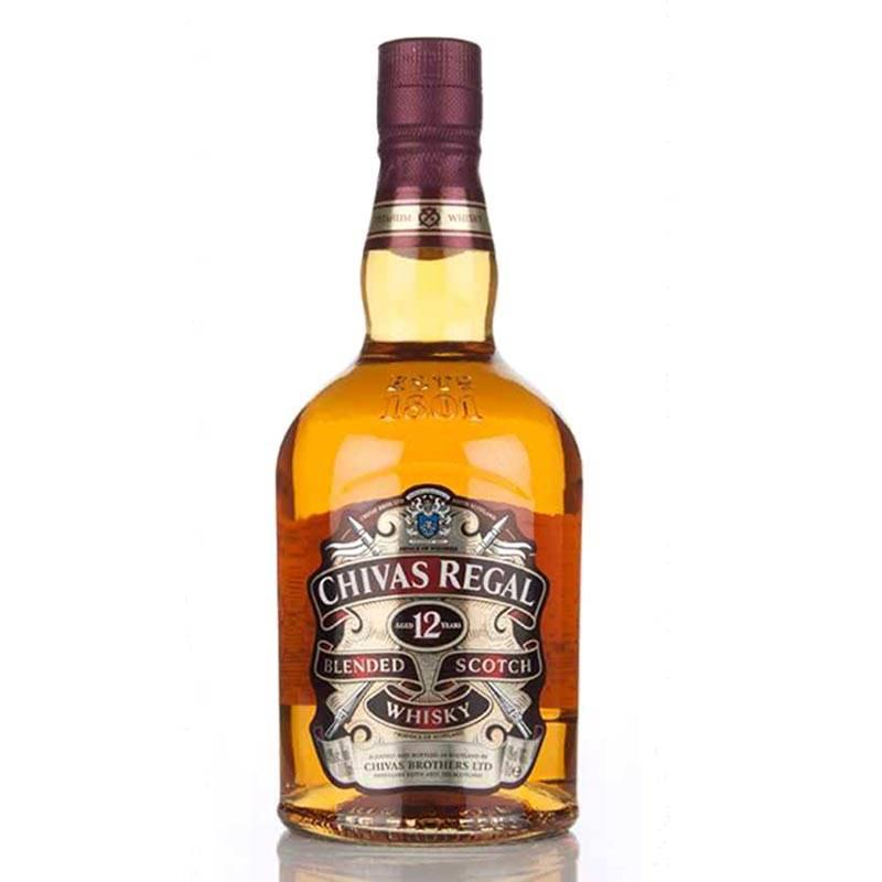 Chivas Regal 12 Years Old Premium Whisky (1L)