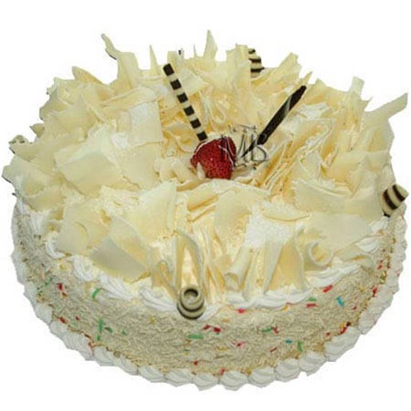 White Forest Cake (1 Kg) from Dining Park