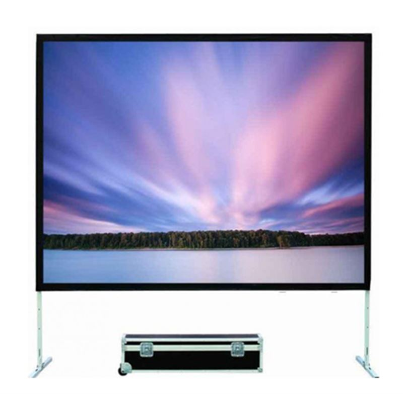 xLab Projector Screen - Fast-Fold / Front or Rear Projection - XPSFF-100