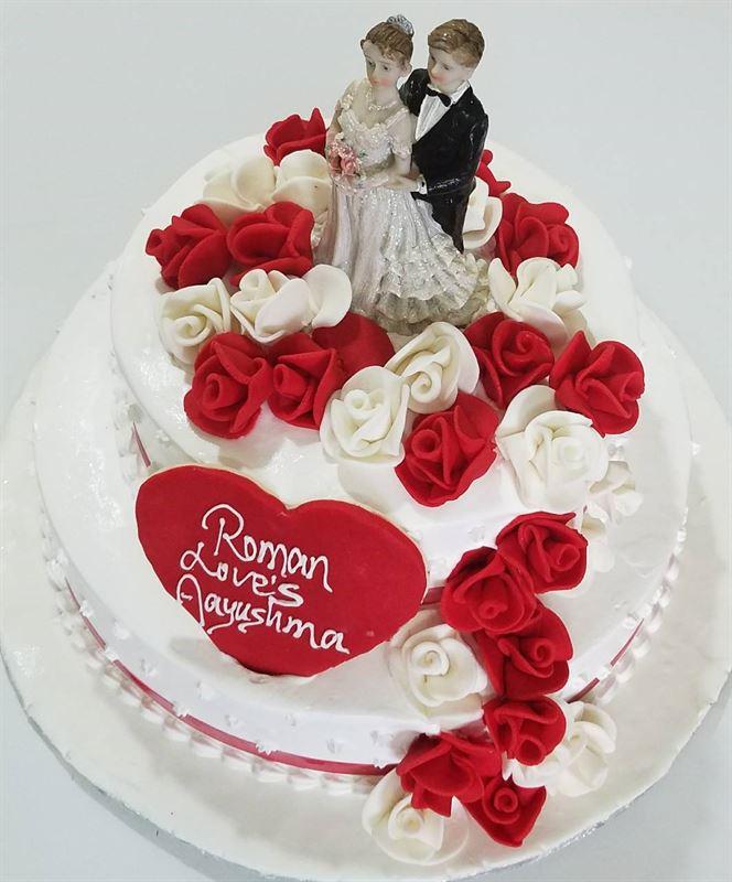 Wedding Cake (4 kg) from Chefs Bakery (CB0180703-7)