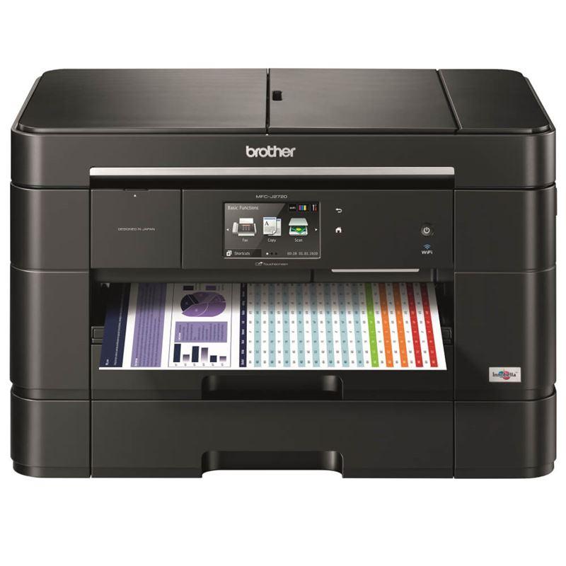 Brother A4 Color Inkjet Printer (MFC-J2720)