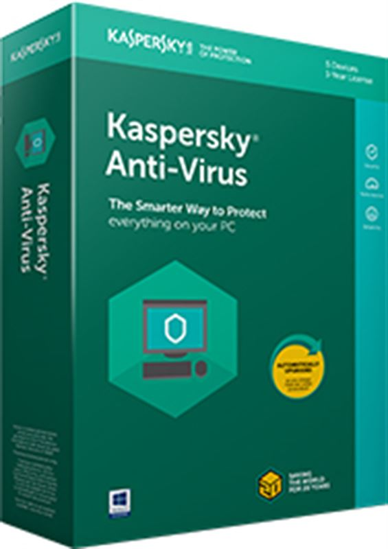 Kaspersky Anti-Virus - 3 Users
