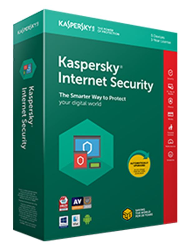 Kaspersky Internet Security - 1 User