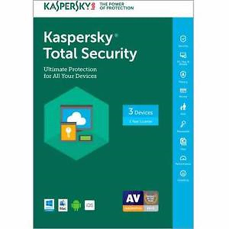 Kaspersky Total Security - 3 Users