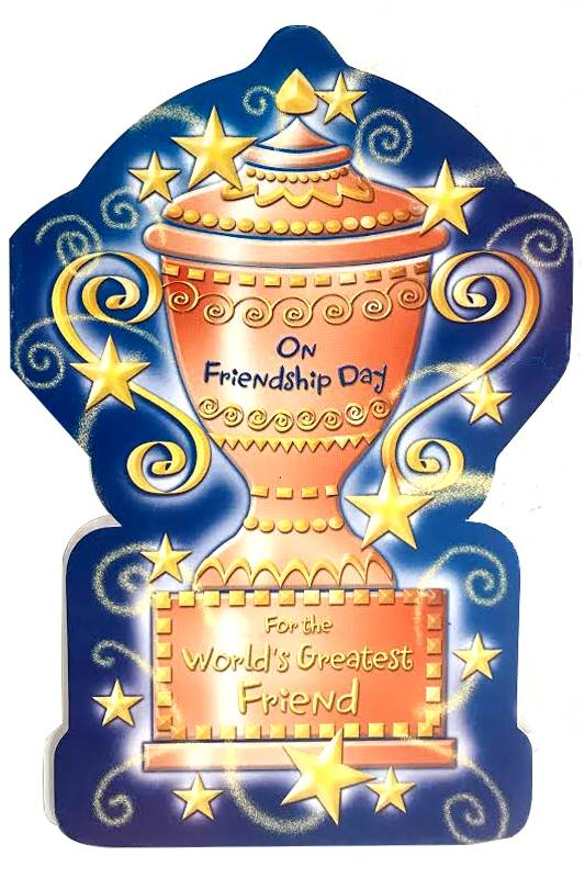 On Friendship Day Card