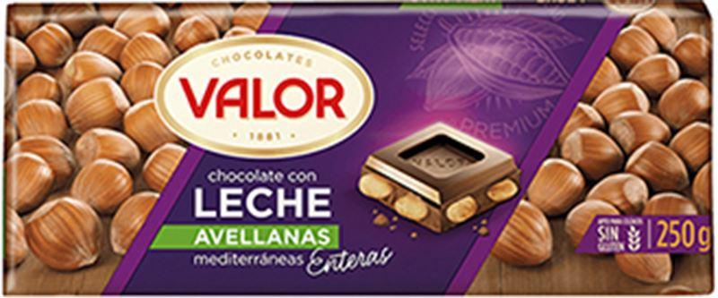 Valor Leche Avellanas Chocolate (250g)