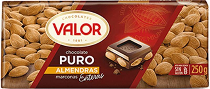 Valor Puro Almendras Chocolate (250g)