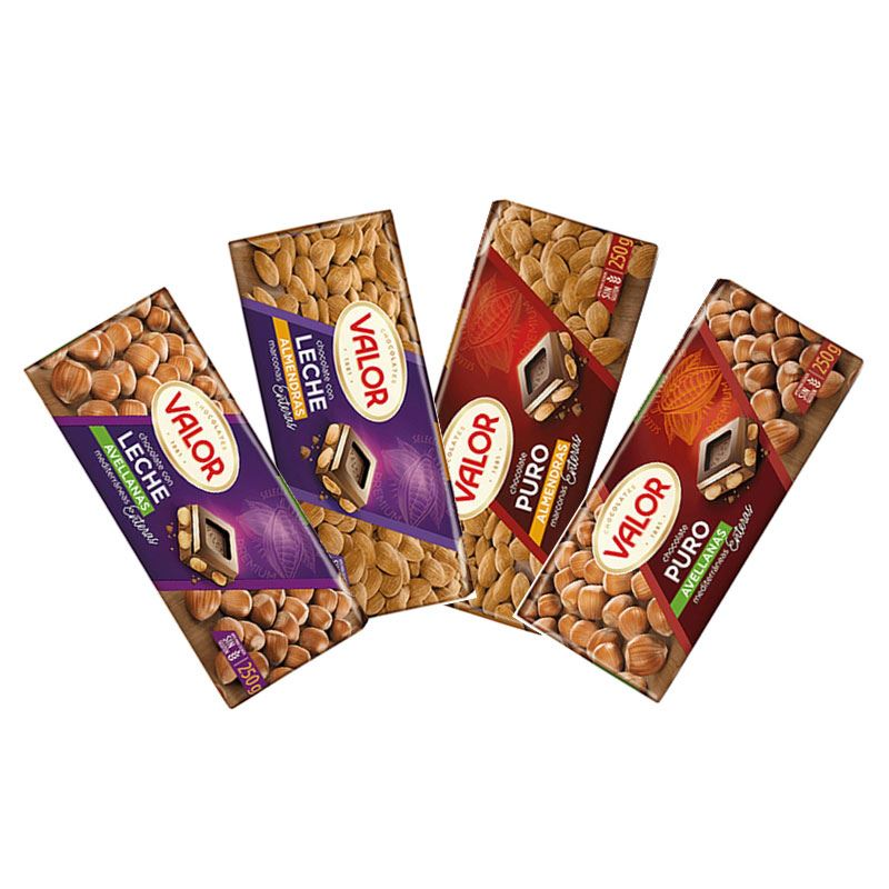 Valor Chocolates Package
