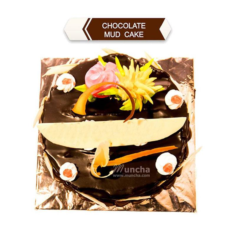 Chocolate Mud Cake (1 Kg) from Hotel Barahi