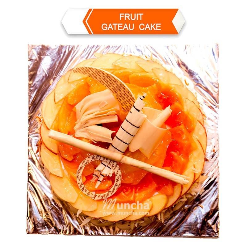 Fruit Gateau Cake (1 Kg) from Hotel Barahi