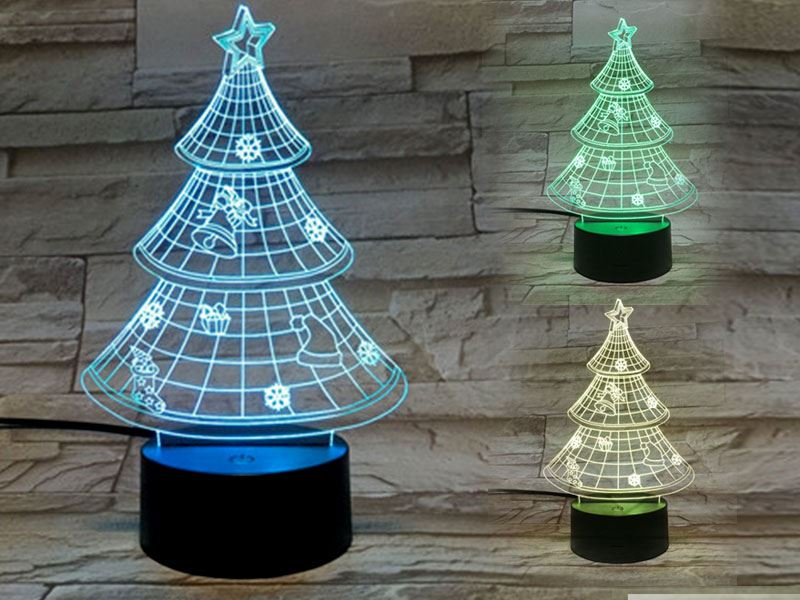 Christmas Tree 3D Light