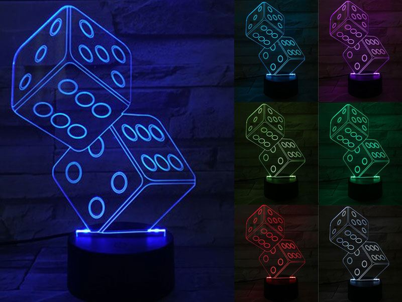 Dice 3D Light