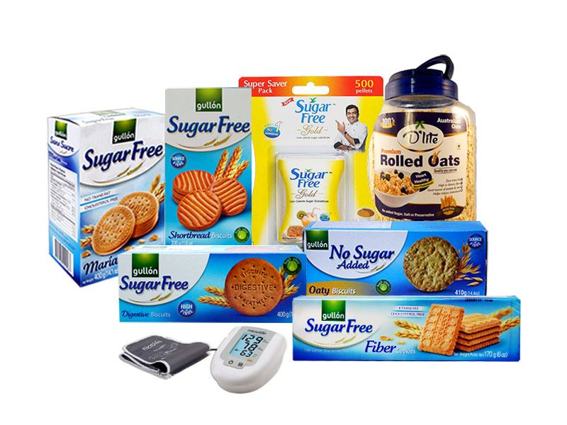 Sugarfree Package with BP Machine