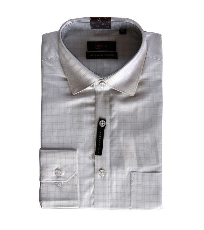 CEO Men's White Formal Shirt (043)(Full Sleeves)