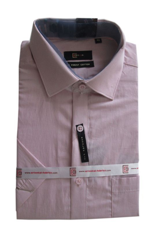CEO Men's Pink Shirt (Half Sleeves)