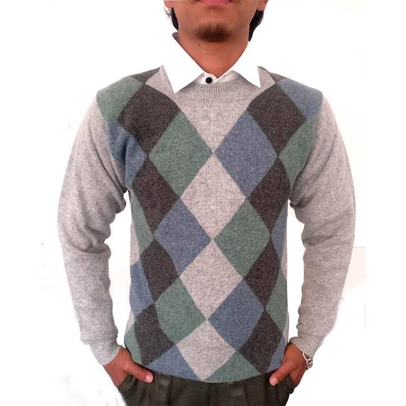 Men's Rhombus Sweater