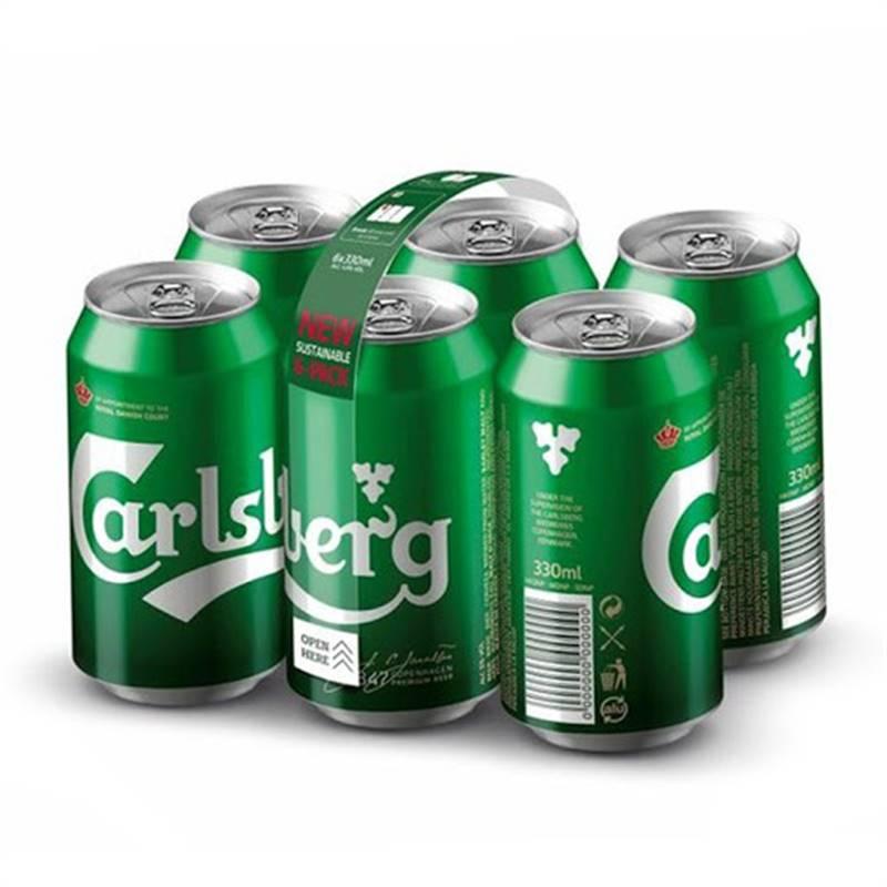 Carlsberg Can Beer (6x500ml)