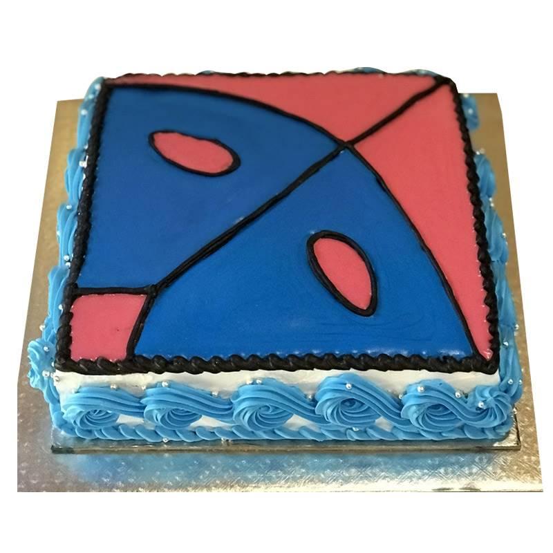 Dashain Theme Cake in Vanilla (1 Kg) from Dining Park