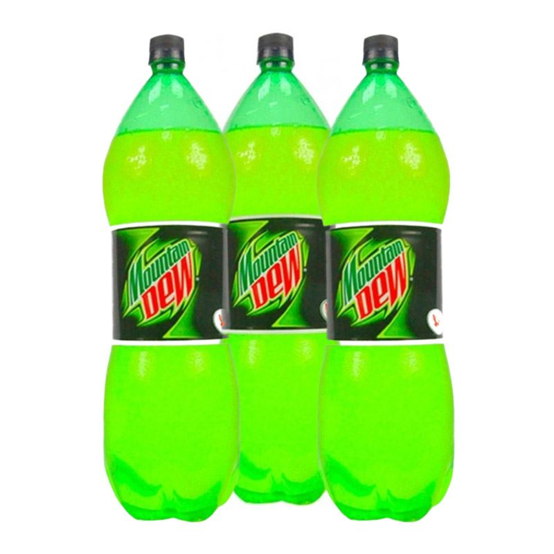 Mountain Dew (2.25L x 3 Bottles)