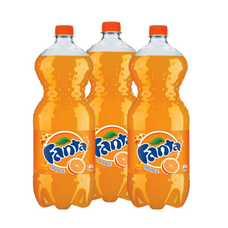 Fanta  (2.25L x 3 Bottles)