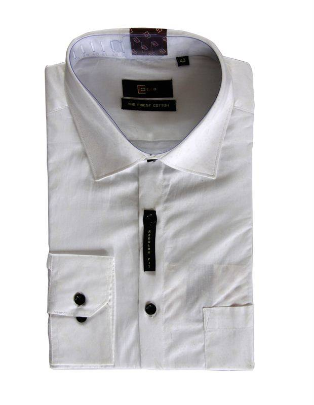 CEO Men's White Formal Shirt (142)