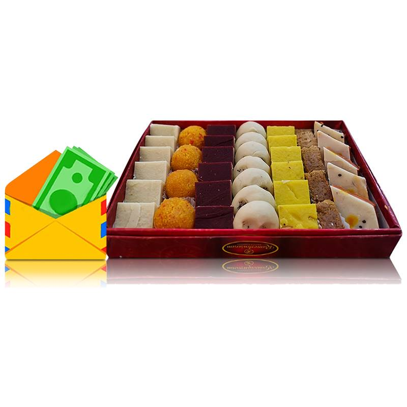 Cash Sagun with Rameshwaram Sweet Box 4