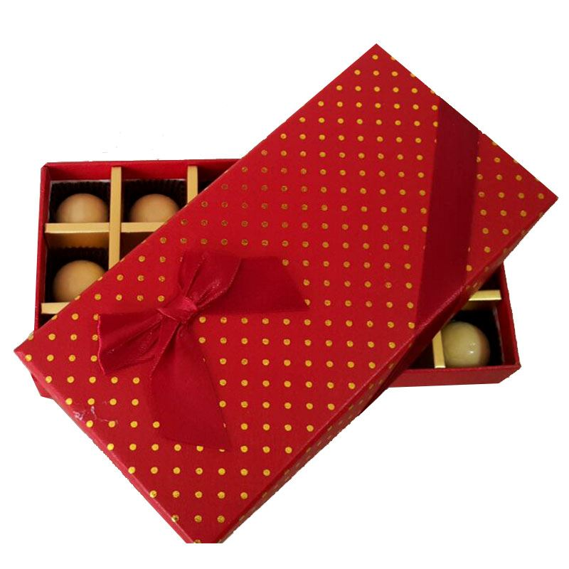 Red Polka (18 Pcs) by Chocolates with Love