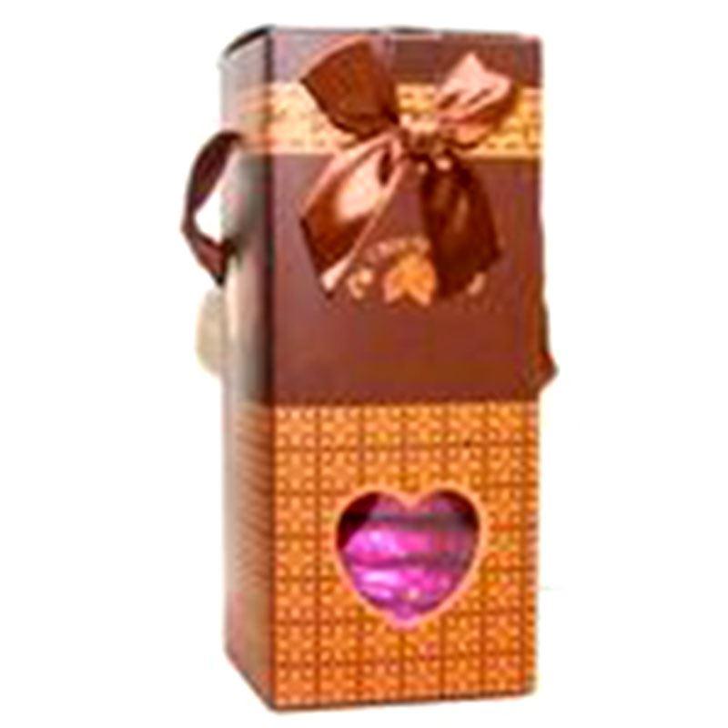 Round Choco Box by Chocolates with Love