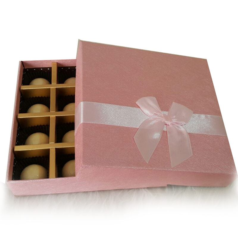 Pink Box (16 Pcs) by Chocolates with Love