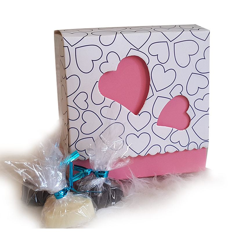Pink Heart by Chocolates with Love